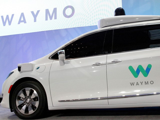 Waymo to launch driverless taxi service with Chrysler