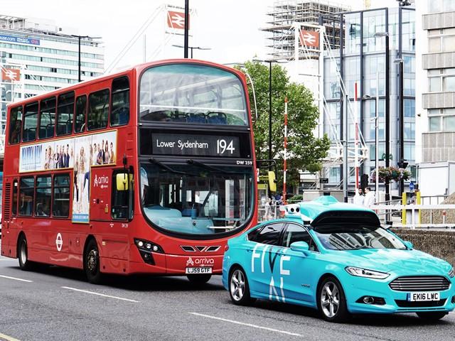 Driverless Car Service Begins Testing In London E T Magazine