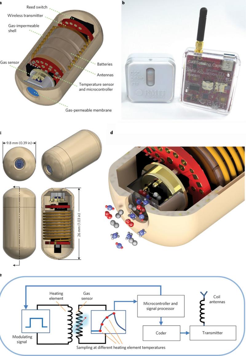 Gas-sensing pill promises to revolutionise gastric treatment