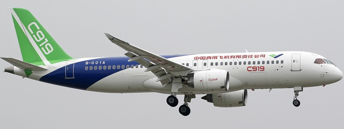 China's home-grown C919 passenger jet completes third test ...