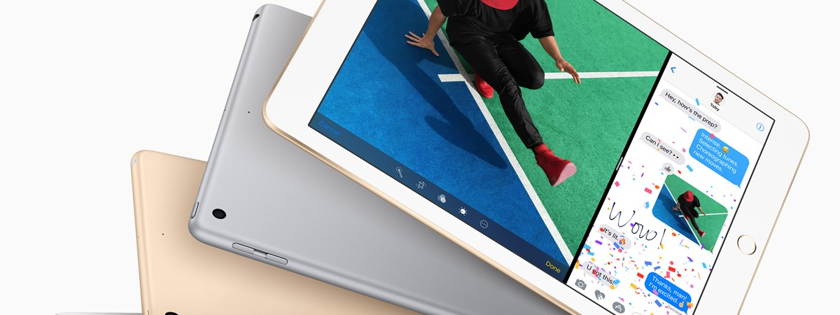 Apple announces new 9.7-inch iPad, Red iPhone 7, Watch ...