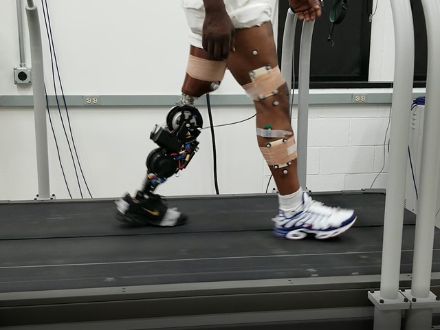 Space tech used to build improved prosthetic leg | E&T Magazine