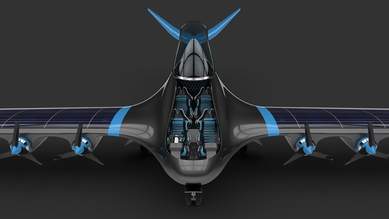 Hydrogen-powered aircraft proposes carbon-free future for