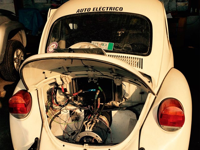 Petrol To Electric Vehicle Conversion Achieves Significant Cost Savings
