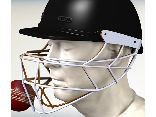Cricket helmet safety improved with 3D simulation | E&T Magazine
