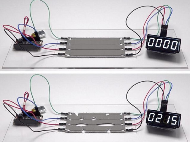 Stretchy, self-repairing circuits a possibility with new material ...