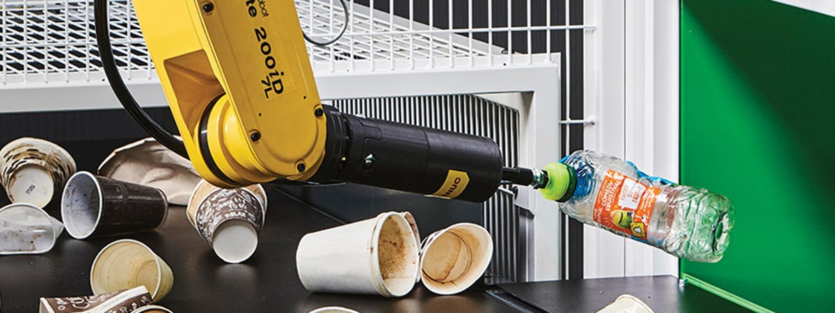 AI-driven robotics key to recycling's challenges