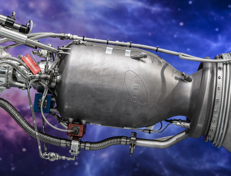 Orbex 3D Printed Rocket Engine - Inline