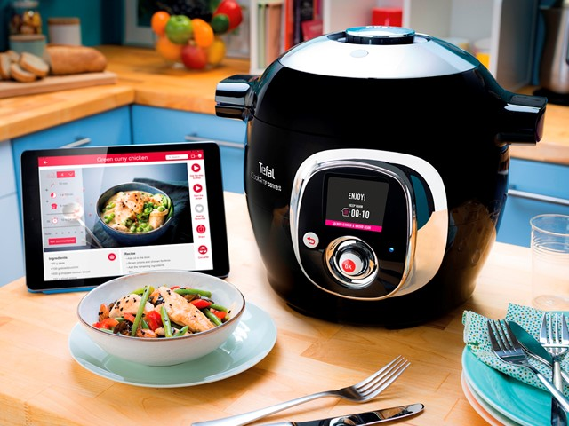 On test: Tefal Cook4Me Connect high-tech pressure cooker