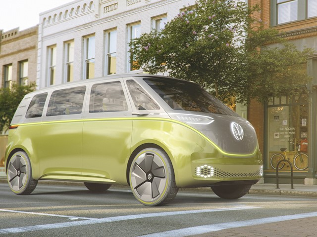 Volkswagen S Hippy Camper Van Reborn For The Electric Era E T Magazine