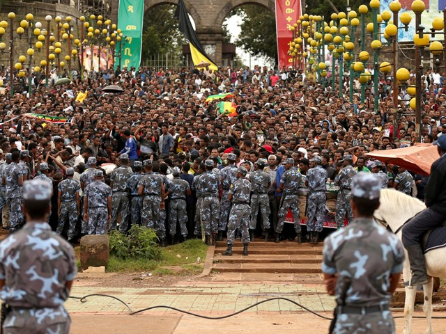 Protests in Addis Ababa