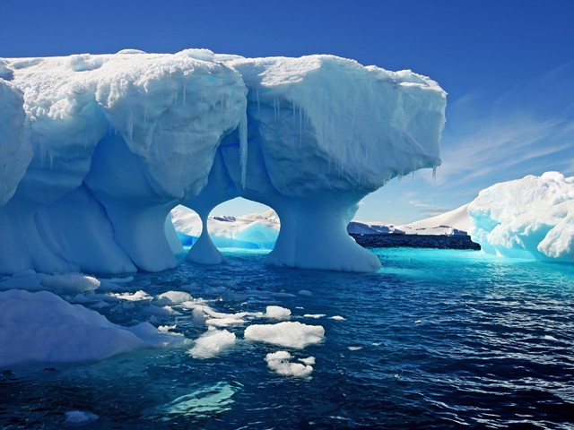 Image result for images of melting polar ice caps