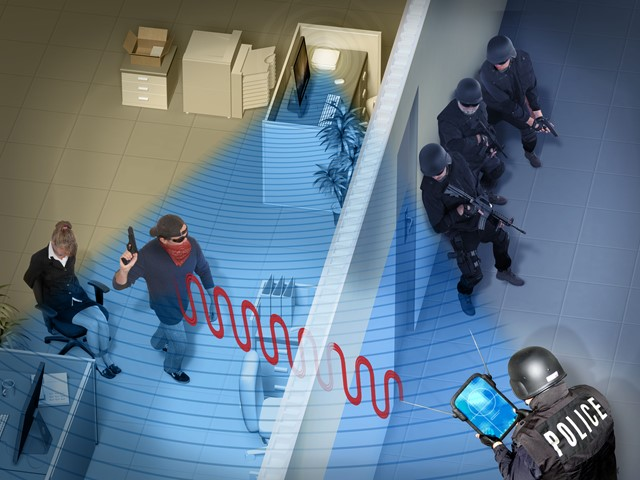 Tracking WiFi Signals to Passively See Through Walls Using