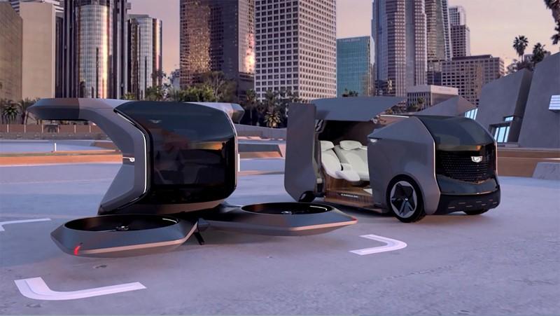 general motors concept flying car