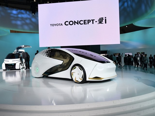 Toyota Dominates In Showcase Of Futuristic Vehicles At Tokyo Motor - Toyota show car